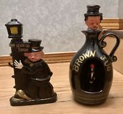 Collectible Decanters One Is Musical With Dancing Clown Inside.