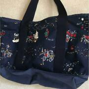 Porter X Starbucks Tote Bag Pouch Christmas Navy New From Japan F/s