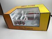 1998 Mth / Railking 30-9106 Esso Operating Gas Station - New In Orig. Box