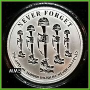 2017 1oz Tonkin Proof Silver Shield Group Never Forget Series 3