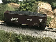 Ho Athearn 2-bay Hoppers Custom Painted Anr /dandh Kds And Load