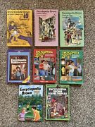 Lot Of 8 Encyclopedia Brown Chapter Books By Donald Sobol Softcover Hardcover