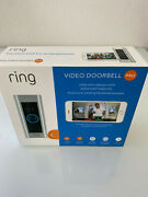 New Ring Pro Video Doorbell 1080p Hd Video With Motion Activated Alerts