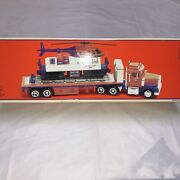 Lionel Tmt-18418 Flatbed Toy Truck And Operating Helicopter Car
