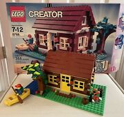 Lego Creator Log Cabin House 5766 100 Complete W/ Instructions And Box