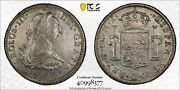 Mexico 1772 Mo Fm Inverted Error Silver 8 Reales Pcgs Xf Detail Calico-1104
