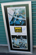 2001 A Space Odyssey 1995 Movie Poster Print Gary Lockwood Keir Dullea Signed