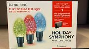Lumations Holiday Symphony 15.8 Ft 20 Ct C12 Multicolor Led Music Light Show