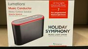Lumations Holiday Symphony Music Conductor Speaker Light Show Christmas