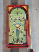 Vintage 1950's Chad Valley Soccatelle Football Bagatelle Game
