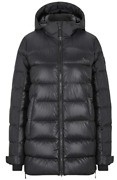 Bogner Fire + Ice Womens Size 6 Small Cathy2-d Black Zip Puffer Jacket H2533