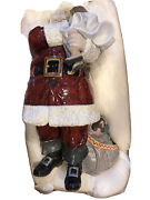 Lladro Santa Iand039ve Been Good-retired Collectable- Brand New Condition