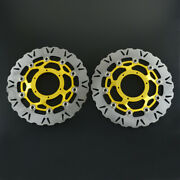 Front Brake Disc Rotor Left Right For Vtr Sp1 Sp2 Rc51 Cbr Rr 1000cc Motorcycle