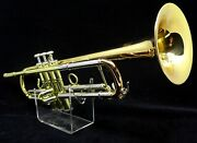 Manchester Brass Custom Rl-gb Professional Bb Trumpet In Lacquer Or Silver Plate