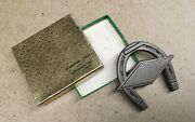 Vintage Diamond Tool And Horseshoe Co. Advertising Paperweight W/box