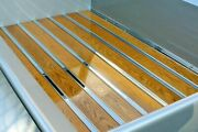 Bed Strips Chevy 1960 - 1966 Polished Stainless Hidden Fasteners Short Stepside