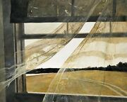 Print - Wind From The Sea 1947 By Andrew Wyeth