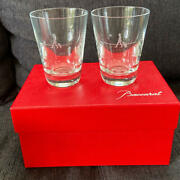 Baccarat Perfection Single Pair Gentleman Tumbler Limited Edition New