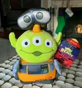 Disney Store Remix Alien Wall-e Robot Stuffed Plush Doll New Sold Out Limited Ed