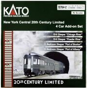 Kato Usa Model Train Products N Scale New York Central 20th Century Limited