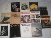 14 Song Books Classic Rock Led Zeppelin Neil Young Bob Dylan Queen Elton John