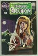 House Of Secrets 92 Dc 1971 1st App Of Swamp Thing High Grade Key Issue