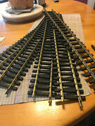 Lgb G Scale Assorted Brass Track. Straight And Curved 22 Items