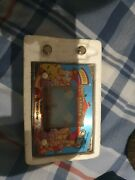 Retro Lcd Card Game Circus Gakken 1980's Vintage With 8 Battery
