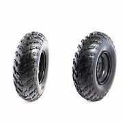 2x Atv Tires And Rims 23x7-10 Front Wheel 10 Golf Cart Lawn Mower Tractor 23x7x10