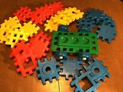 Vintage Little Tikes 4andrdquox4 Waffle Blocks Set With Wheels Chassis