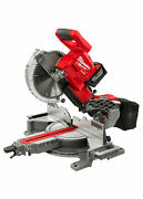 Milwaukee 2734-21hd M18 Fuel Dual Bevel Sliding Miter Saw Kit And 9.0 Hd Battery