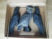 Carry Lite Crow Shooting Kit Decoys With Owl In Box