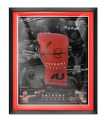 Anthony Joshua Framed And Signed Boxing Glove With Exact Proof Aftal Coa B