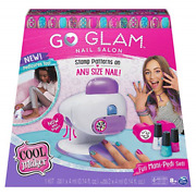 Cool Maker, Go Glam Nail Stamper Salon For Manicures And Pedicures With 5 And