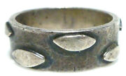 Rancho Alegre Taxco Mexico Sterling Silver Mid Century Modern Unisex Ring Band