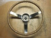 Vintage Sports Car Steering Wheel Circa 60and039s Fits