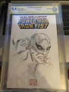 Power Man And Iron Fist 1 Cbcs 9.6 04/16 S And S By Chris Campana {cgcb2}