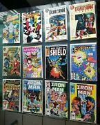 Vintage Comic Books Lot Gold To Modern All Ages Marvel Dc Image Superman Ironman
