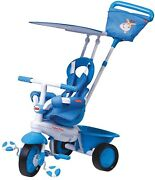 Fisher Price Elite Trike Baby Tricycle For 1 Year Old, Blue
