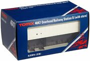 Overhead Railway Station B Store Tomix 4047 N Scale