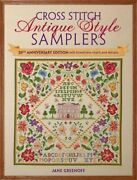 Cross Stitch Antique Style Samplers 30th Anniversary Editio... By Jane Greenoff