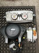 2007-2012 Nissan Altima Both Front, Module, Clock Spring, And Seat Belts.
