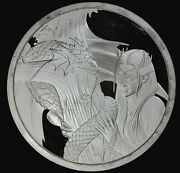 Anne Stokes Dragon Fair Proof 5oz .999 Silver Round Kindred Spirits