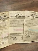 Lot Of 3 Goldfield Nevada Consolidated Mines Co Insurance Documents 1912