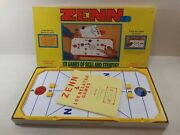 Vintage Zenn Board Game - Table Hockey Style Game 1977 Complete