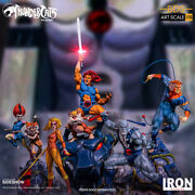 Thundercats Complete Iron Studios 110 Scale Diorama Statues Limited Lion-o_nrfb