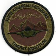 4 Usaf Air Force 354 Fw Advanced Programs Ocp Round Embroidered Patch
