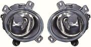 For Land Rover Freelander Facelift 04-06 Front Fog Lights Lamps 1 Pair O/s And N/s