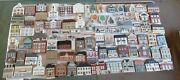 The Cats Meow Village Huge Lot Vtg 1980s 90and039s Decorative Christmas Collectibles