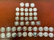 Lot 43 Olympic Silver Coins, 1980 Russia, 20-10 Rubles And 23-5 Rubles